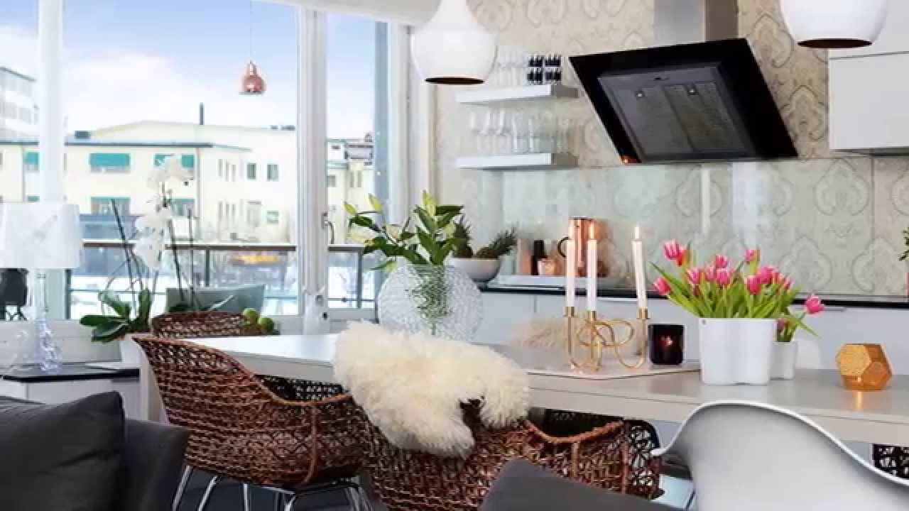 skandinavische k che youtube. Black Bedroom Furniture Sets. Home Design Ideas