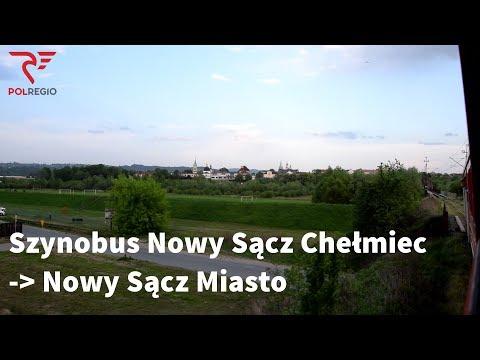 Szynobus Nowy Sącz Chełmiec - Nowy Sącz Miasto