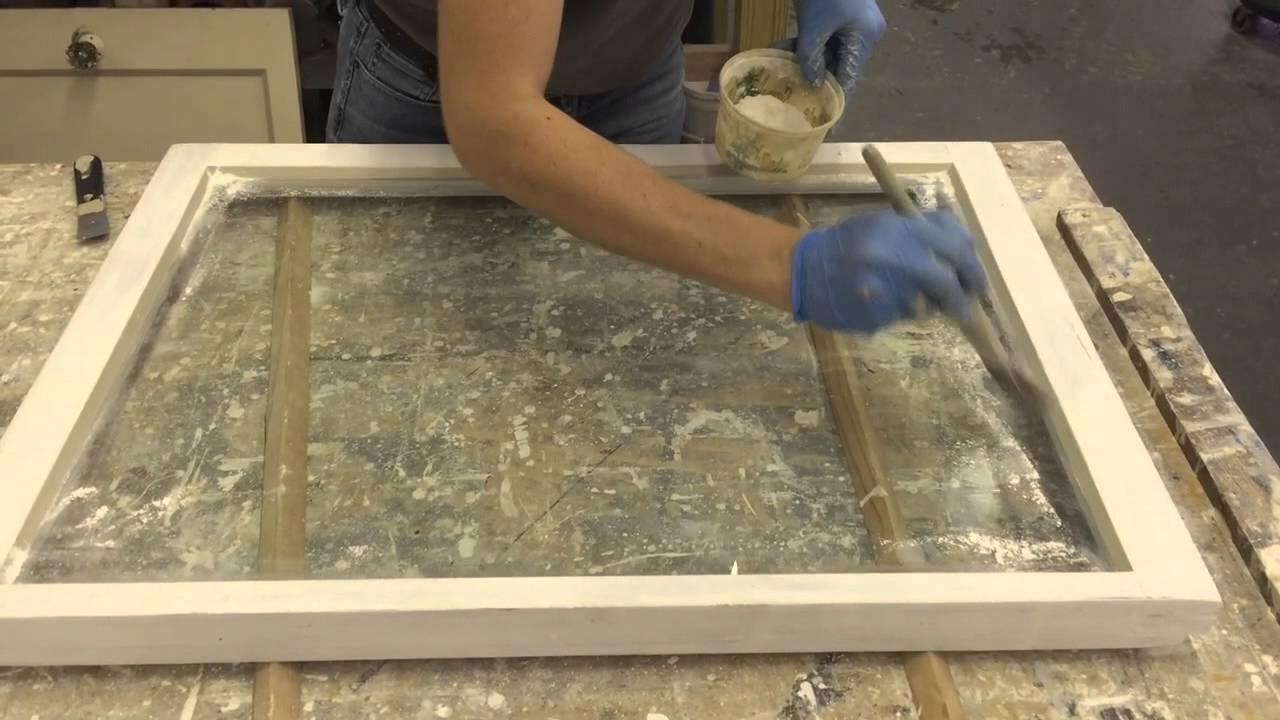 How To Glaze Windows