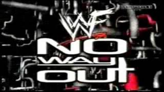 WWF No Way Out 2000 Live Opening