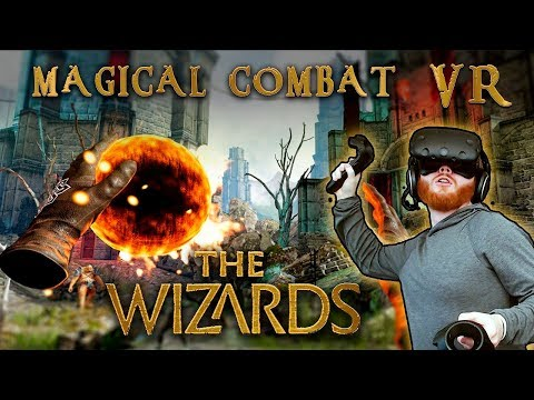 The Wizards: VR magical roomscale combat with gesture casting