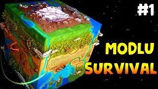 Dünyanın Sonu: Minecraft Modlu Survival Bölüm1 - BAŞLIYORUZ! (Steve's Galaxy Modpack)