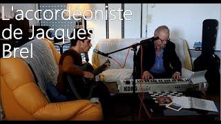 """""""L'accordéoniste de Jacques Brel"""" Hommage à Marcel Azzola  / Nicolas Saint-Lanne"""