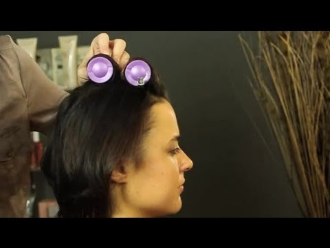 how to style medium short hair how to use rollers in hair shoulder length 2692 | hqdefault