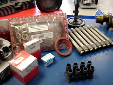 VW Bug or Dune Buggy 1600cc Engine Rebuild Kit