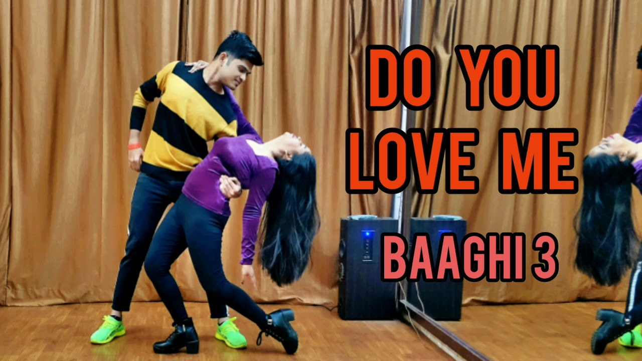 Do you love me | Baaghi 3 | Jayesh and Ruchita choreography