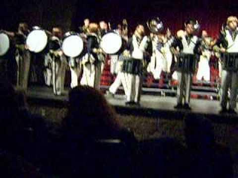 Buhach Colony High School band  drumline cadence