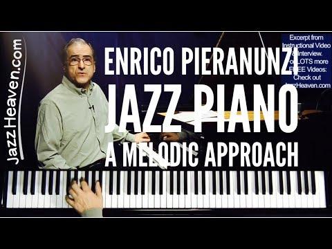 "Enrico Pieranunzi ""Jazz Piano - A Melodic Approach"" TRAILER JazzHeaven.com Excerpt"