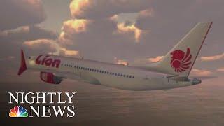 Lion Air Crash Scenario Wasn't Covered In Boeing 737 MAX Manual, Veteran Pilots | NBC Nightly News