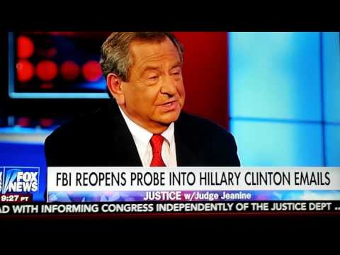 FMR FBI DEPUTY DIRECTOR JAMES KALLSTROM saysTHINKS SOMETHING BIG COMING OUT CLINTON PROBE IN 10 DAYS