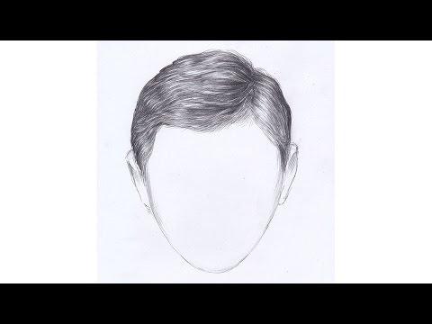 Как нарисовать губы у мальчика