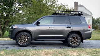 New GoRhino SRM600 Roof Rack for my Toyota Land Cruiser Heritage Edition - FORM follows FUNCTION