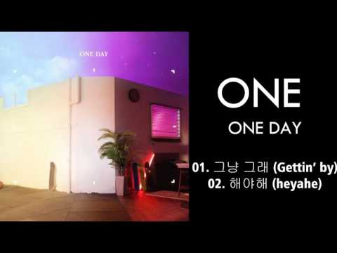 ONE – ONE DAY (MP3 DOWNLOAD)