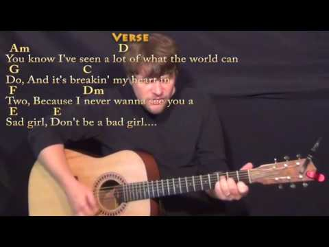Wild World (Cat Stevens) Guitar Cover Lesson with Chords/Lyrics