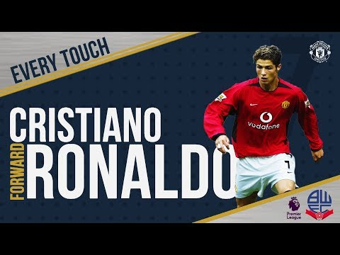 Cristiano Ronaldo's Debut   EVERY Touch v Bolton!   Manchester United 4-0 Bolton Wanderers