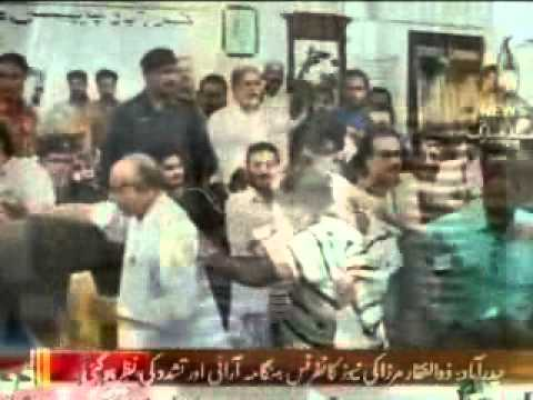 Zulfiqar Mirza Conquered Hyderabad Press Club through Kalashnikov