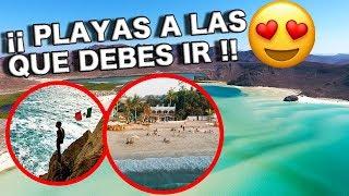 10 PLAYAS más BARATAS en México