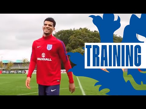Double Finishing Session with Abraham, Solanke & U21 Strikers | Inside Training