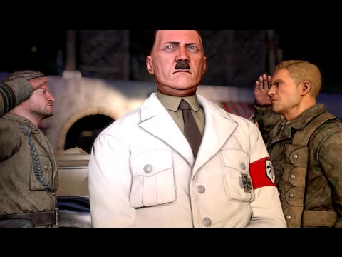 "7 Ways to Kill HITLER - Sniper Elite 3 Hunt the Grey Wolf DLC Gameplay Walkthrough ""And Stay Dead"""