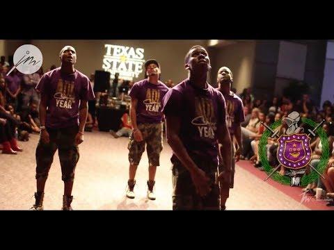 #KnuckIfYouBuckStrollOff: Omega Psi Phi Fraternity, Inc. at University of Texas San Antonio