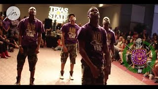 Knuck If You Buck Stroll Off: Omega Psi Phi Fraternity, Inc. at University of Texas San Antonio