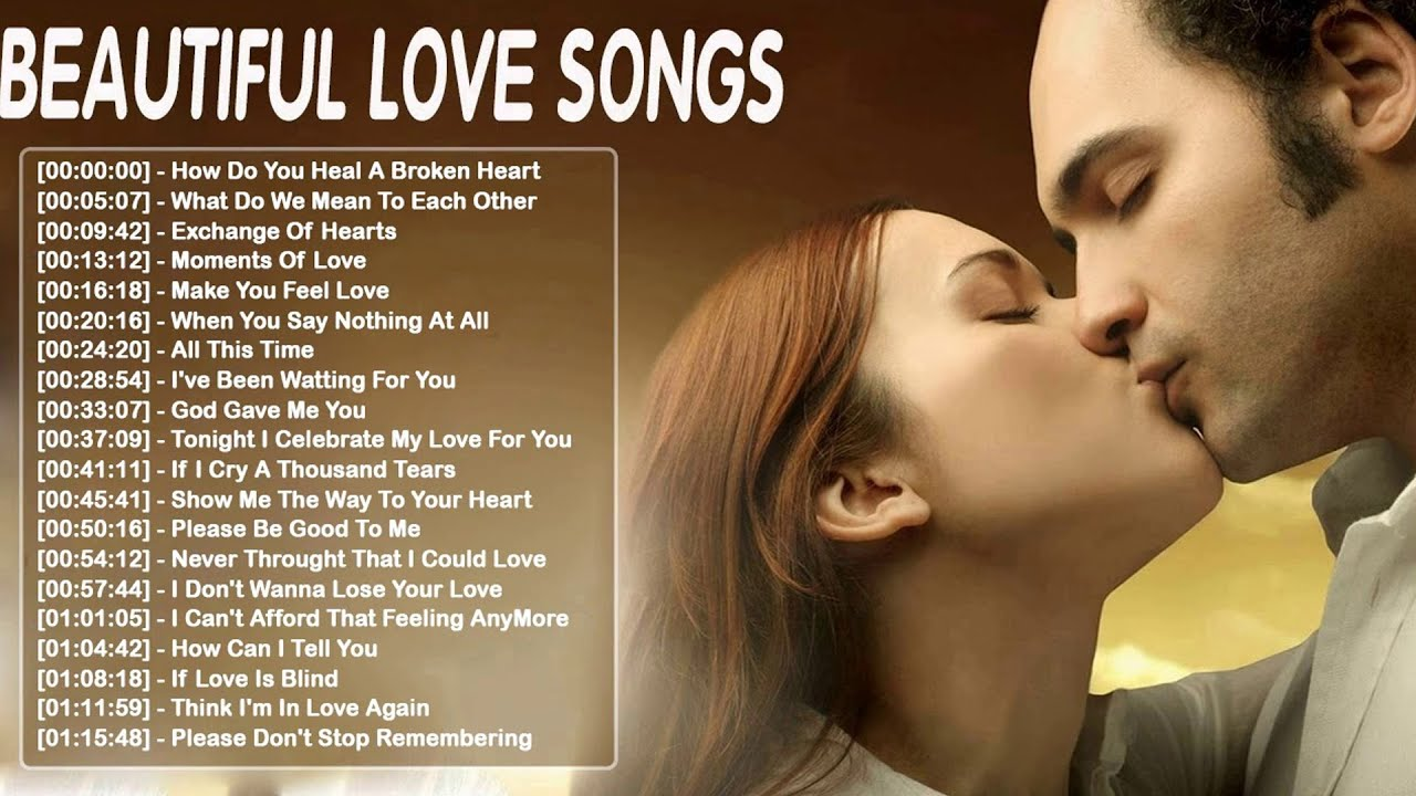 Relaxing Beautiful Love Songs 70s 80s 90s Playlist 💘 Greatest Hits Love Songs 80's 90's Collection
