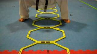 Advanced Ladder Drills For Taekwondo