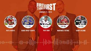First Things First audio podcast(1.21.19) Cris Carter, Nick Wright, Jenna Wolfe | FIRST THINGS FIRST