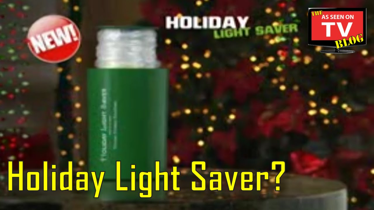 holiday light saver as seen on tv commercial buy holiday light saver as seen on tv christmas light