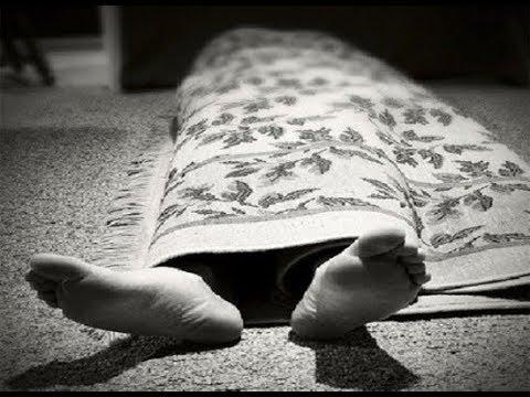 В Волжском задержали мужчину, который нес труп в ковре