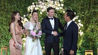 Trường Giang - Nhã Phương, Khổng Tú Quỳnh, Thoại Mỹ cùng dàn sao nhộn nhịp đi đám cưới Hoàng Oanh