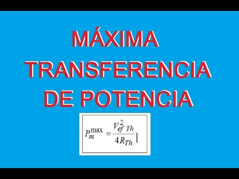 Tutorial (Explicacion) Máxima Transferencia De Potencia Ejercicios Resueltos Circuitos