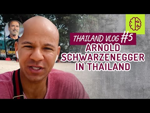 THAILAND VLOG #5 - Arnold Schwarzenegger in Thailand ⁉️