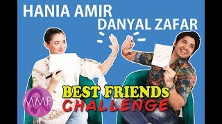 Best Friends Challenge with Danyal Zafar and Hania Amir |Momina's Mixed Plate|