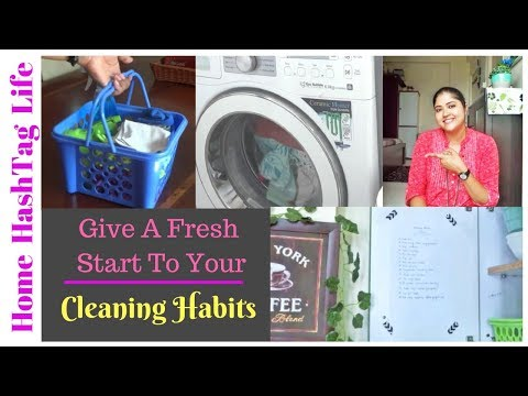 Home Cleaning || Indian Cleaning Routine- 12 Tips | Cleaning Routine Habits | Home HashTag Life