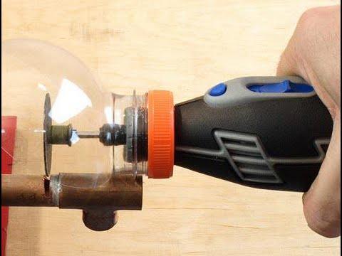 How To Make A Mini Safety Protective Cover DREMEL - DREMEL Mini Güvenlik Koruyucu Kapak Nasıl Yapılı