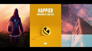 Download song Take Away   Happier   Faded [Remix Mashup] - Marshmello x Alan Walker x The Chainsmokers & More