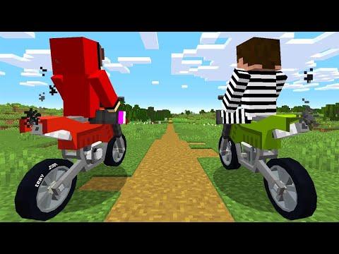 Minecraft Bike Thief