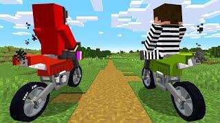 Minecraft Bike Thief VS Hunter