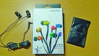 Отличные наушники Awei ES900i за 8,5$ c Focalprice.com