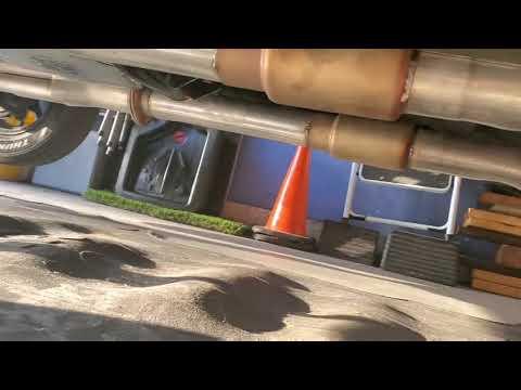 BIG BLOCK NOVA HEADERS 3 INCH PIPES AND DYNOMAX RACE BULLETS BIG CAM