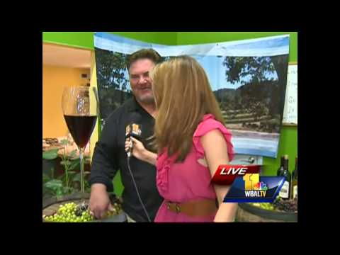 Ava stomps grapes for Hunt Valley wine fest