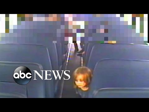 Video shows moments before 6-year-old vanished