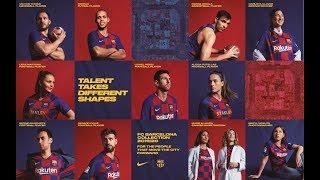 FC Barcelona new kit for the 2019/2020 season