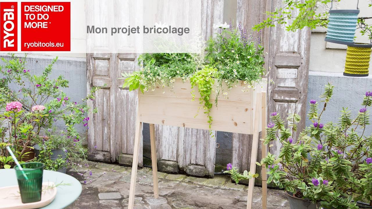 Planter Herbes Aromatiques Jardiniere fabriquer un bac à planter , tutoriel bricolage