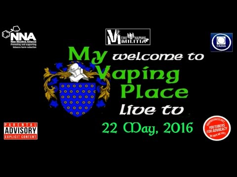 MVP on Vapers TV Live - 22 May, 2016