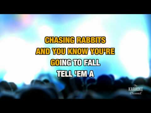 """White Rabbit in the Style of """"Jefferson Airplane"""" with lyrics (no lead vocal)"""