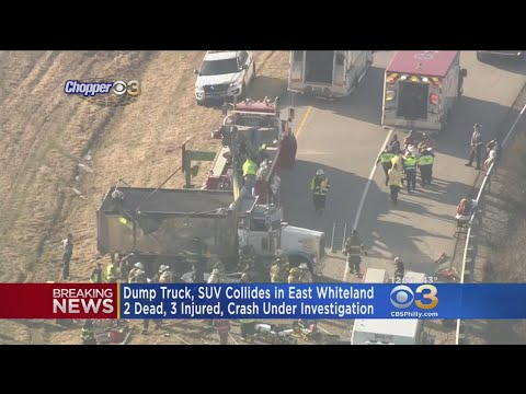 Dump Truck Driver Survives Deadly Crash In East Whiteland Township