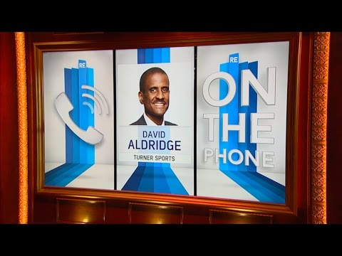 David Aldridge of Turner Sports on Thunder Stunning Warriors in Game 1 - 5/17/16