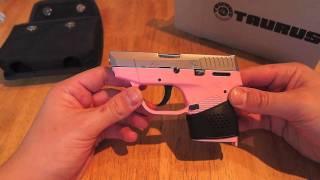 Taurus 738 TCP .380 Pocket Pistol Review Pink